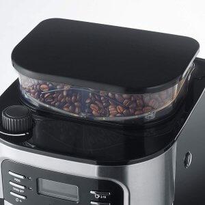 meilleure cafetière broyeur intégré